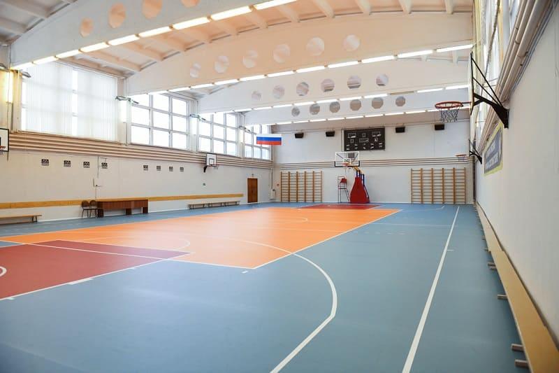 В Смоленске завершили ремонт в спортшколе на ул. Кутузова