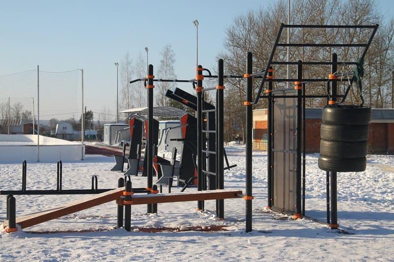 От футбола до гандбола. В Вязьме завершено строительство современного ФОКа открытого типа