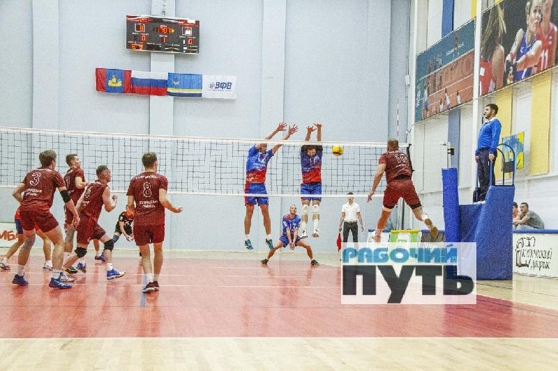 Смоленские волейболисты удачно стартовали в Первой лиге