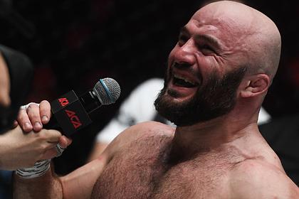 Названа причина драки с участием Исмаилова на турнире MMA в Москве