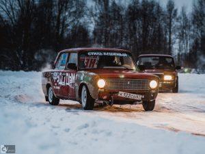 Под Смоленском прошли соревнования по зимнему дрифту