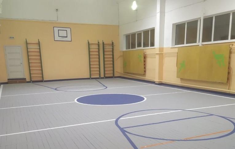 В Смоленской области в школе отремонтировали спортзал