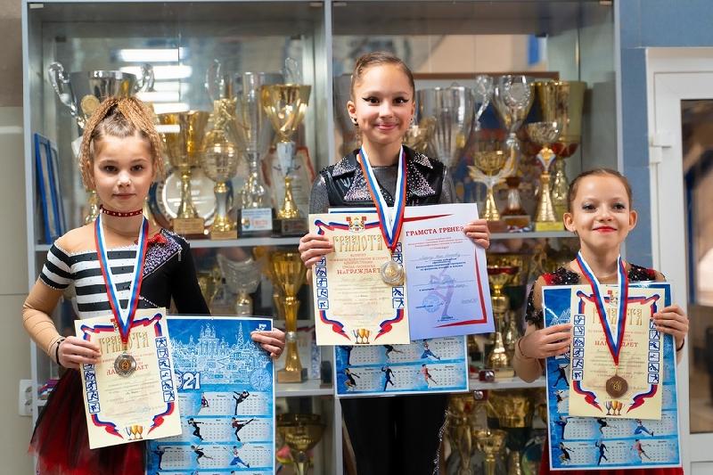 В Смоленске прошли городские соревнования по фигурному катанию