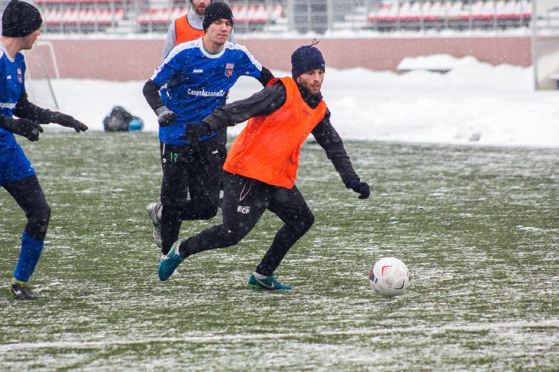 Смоленский клуб «Красный» одержал первую победу под руководством Медведева