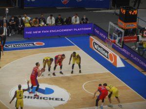 Классика баскетбола. Корреспондент посетил матч Евролиги