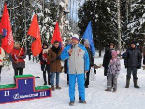 В Ярцевском районе прошла лыжная гонка, посвященная памяти воинов-интернационалистов