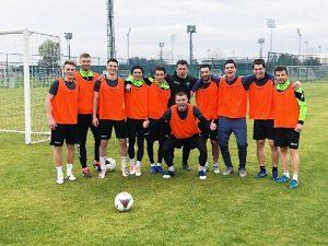 Смоленский клуб «Красный» обыграл юношескую сборную России