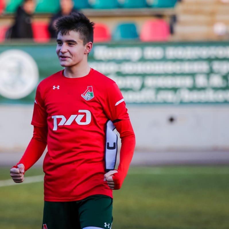 Смоленский футболист получил вызов в сборную России