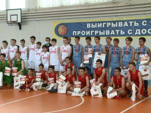 Смоленск впервые принял этап школьной баскетбольной лиги