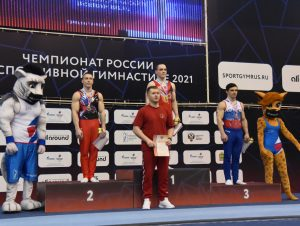 Студенты СГАФКСТ успешно выступили на чемпионате по спортивной гимнастике