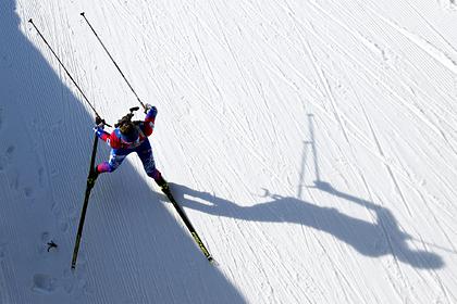 Российские биатлонистки остались без медалей в спринте на последнем этапе КМ