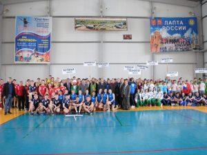Юные спортсмены состязались в мини-лапте в Смоленске