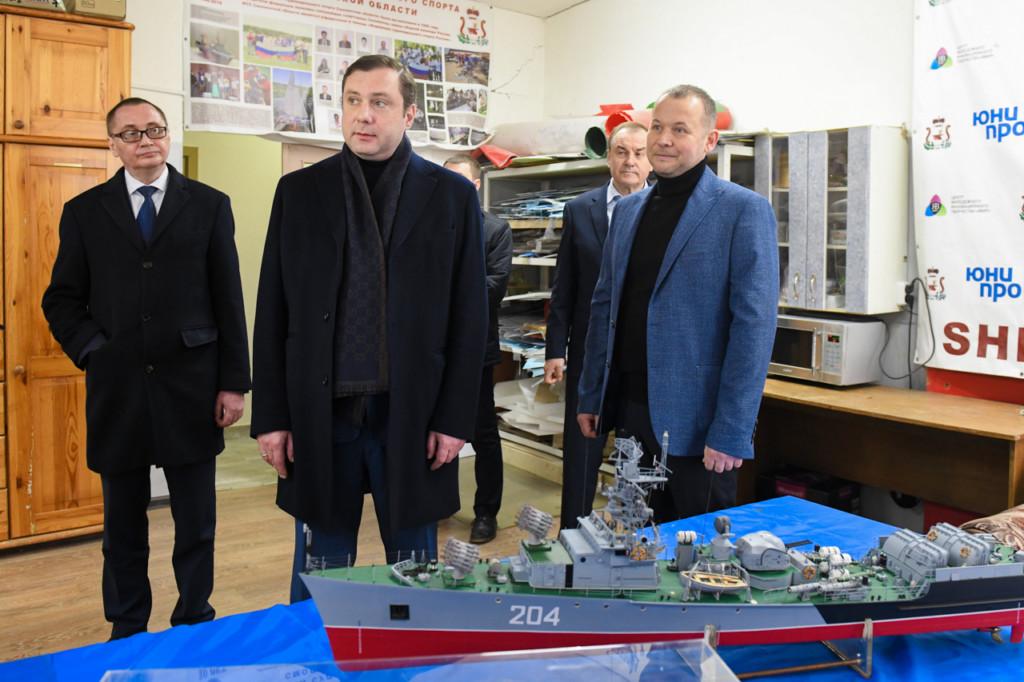 Алексей Островский поручил отремонтировать восстановительный центр спортшколы в Смоленске