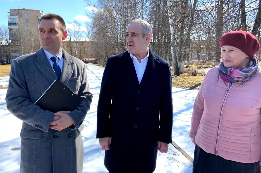 В Гагарине построят новую спортплощадку при поддержке Сергея Неверова