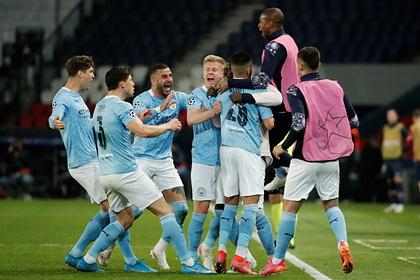 Манчестер Сити одержал волевую победу над ПСЖ в полуфинале Лиги чемпионов