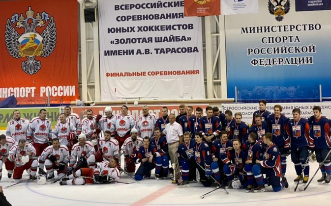 Команда СГАФКСТ стала победителем чемпионата Смоленской области по хоккею