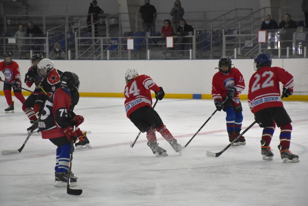 Смоленские хоккеисты провели турнир в поддержку сборной России