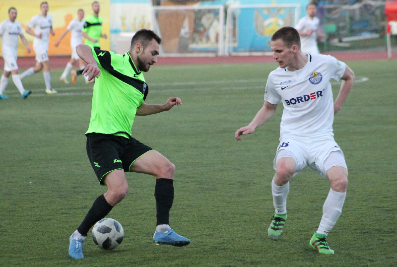 «Красный» в Смоленске в матче-триллере обыграл «Сахалин»