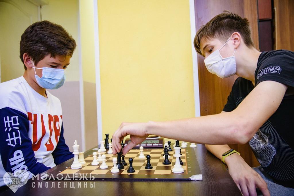 В Смоленске прошёл Блиц-турнир по быстрым шахматам