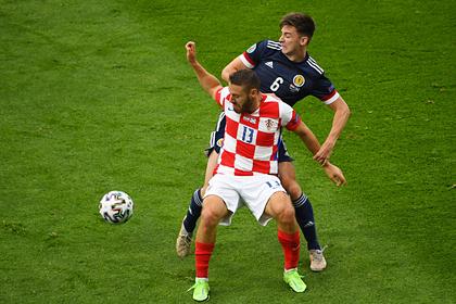 Сборная Хорватии обыграла Шотландию и вышла в плей-офф чемпионата Европы