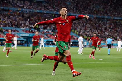 Роналду повторил мировой рекорд по количеству голов за сборную