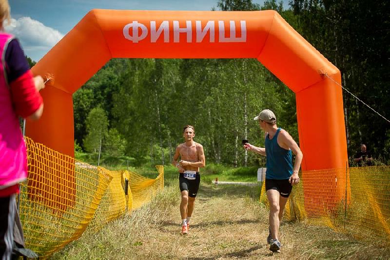 В «Смоленском Поозерье» прошли соревнования по триатлону