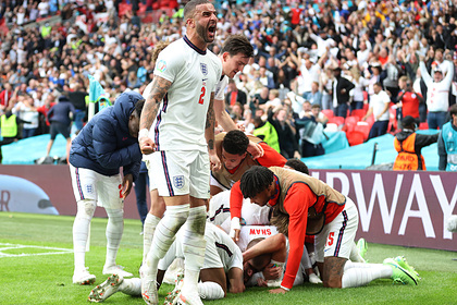 Сборная Англии выбила Германию с чемпионата Европы