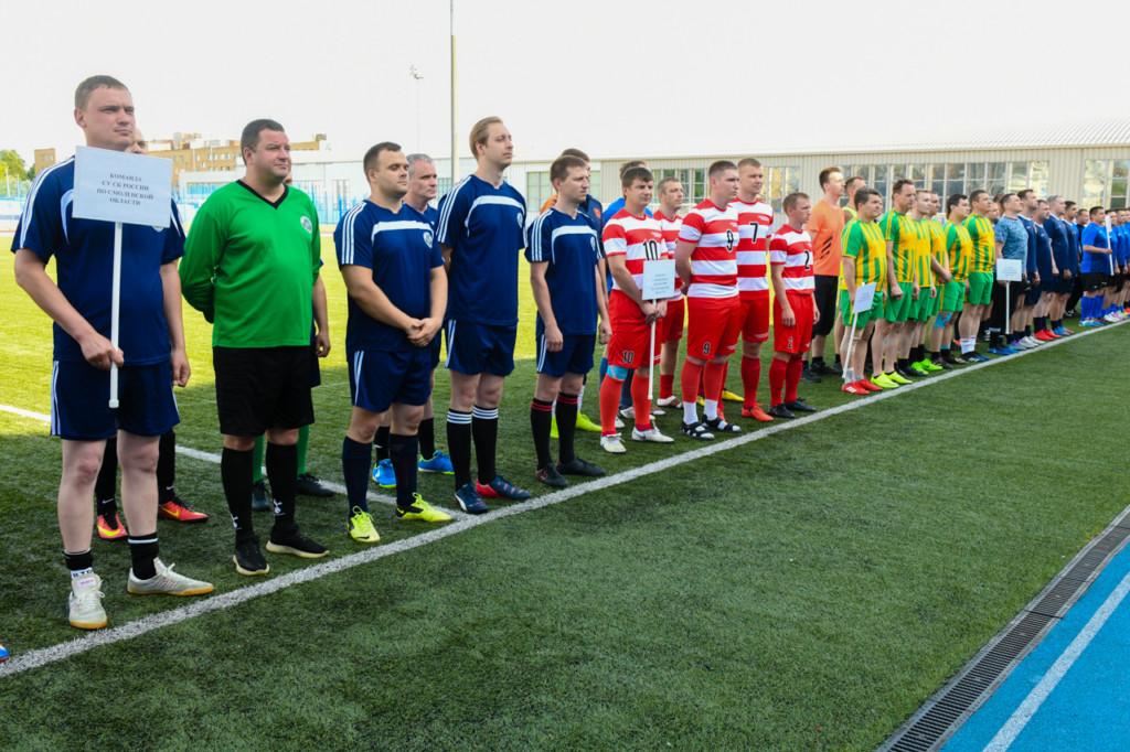 Алексей Островский принял участие в открытии турнира по мини-футболу в Смоленске