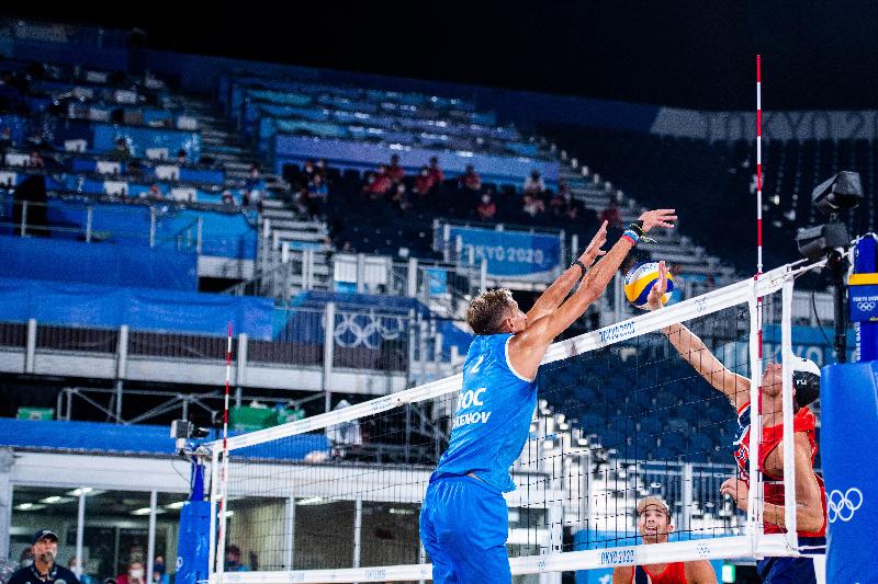 Смоленский волейболист Константин Семенов вышел в четвертьфинал Олимпиады в Токио