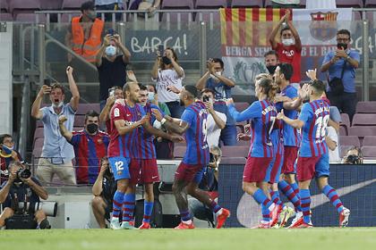 «Барселона» одержала победу в первом матче после ухода Месси