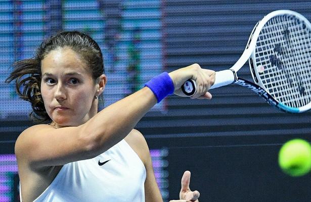 Дарья Касаткина проиграла Барборе Крейчиковой в первом круге турнира в Цинциннати
