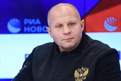 Федор Емельяненко рассказал о предпочтении драться за границей