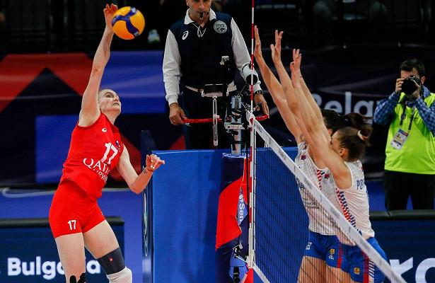 Российские волейболистки почти сломили чемпионок мира. Но проиграли на тай-брейке