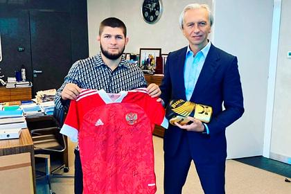 Нурмагомедов встретился с главой РФС