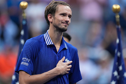 Назван гонорар Медведева за победу на US Open