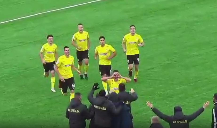 Смоленский футболист забил победный гол за клуб известного блогера