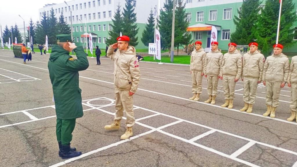 Смоленские юнармейцы вошли в число лучших в стране