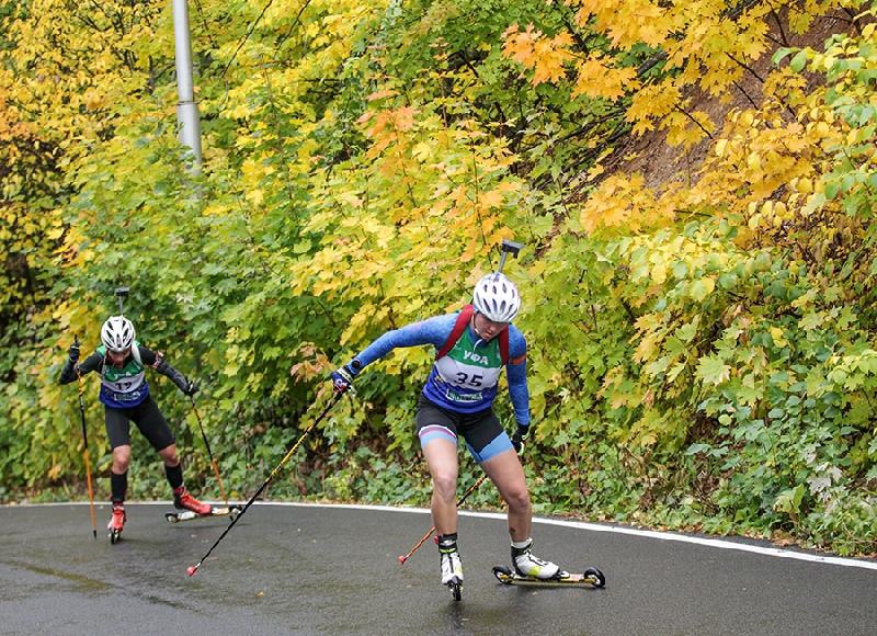 Золотая пара. Смоляне привезли медали с первенства России по летнему биатлону